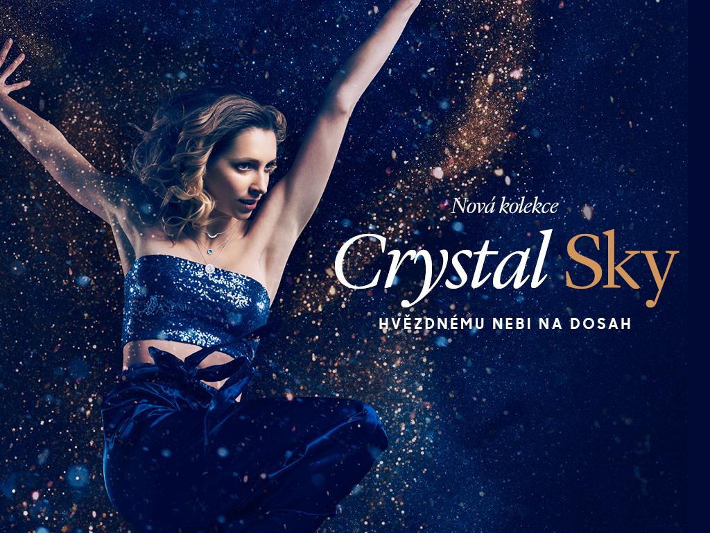 Hvězdnému nebi na dosah snovou kolekcí šperků Crystal Sky