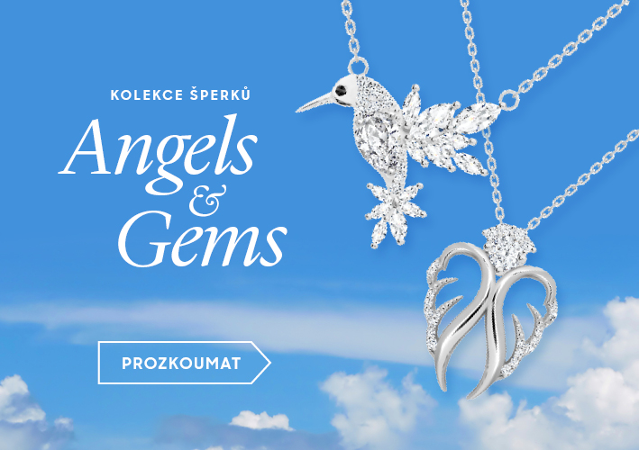 Nová kolekce šperků Angels and Gems