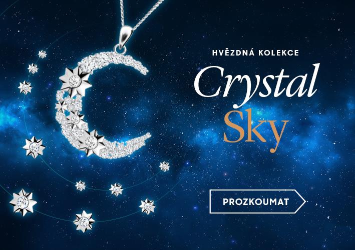 Hvězdná kolekce šperků Crystal Sky