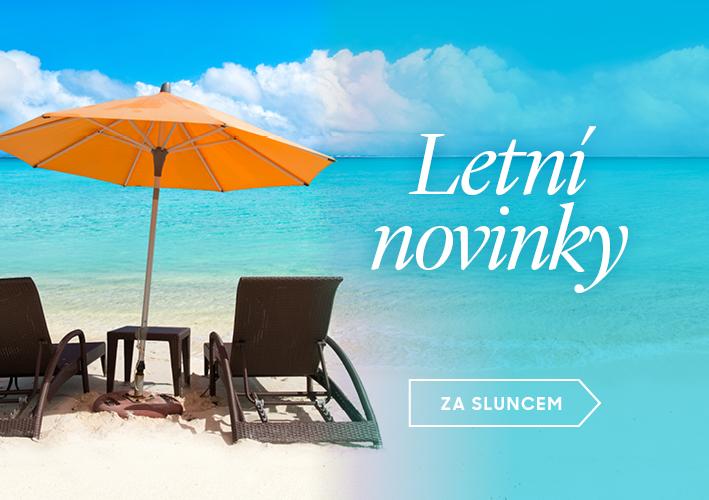 Letní novinky - přívěsky, náušnice, náramky, brože