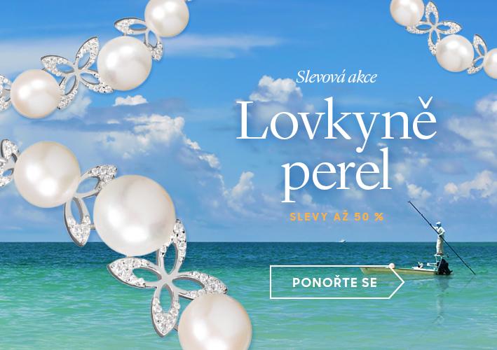 Lovkyně perel: slevy až 50 %