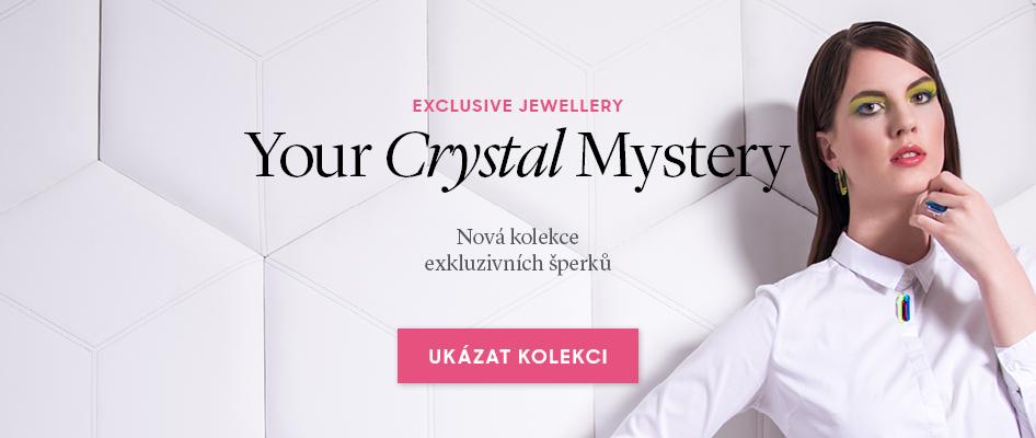 Nová kolekce exkluzivních šperků Your Crystal Mystery Preciosa