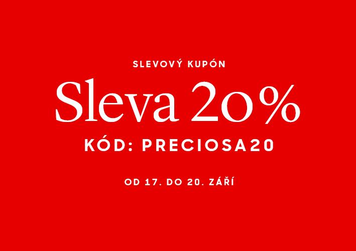 Slevový kupón 20 %