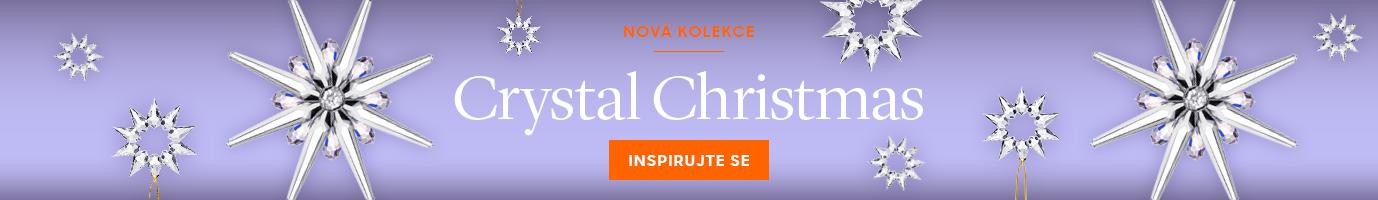 Nová kolekce křišťálových dárků a dekorací Crystal Christmas