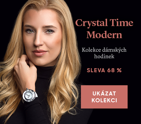Tip měsíce: Kolekce dámských hodinek Crystal Time Modern