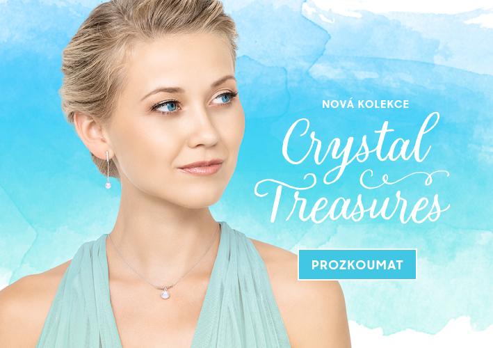 Nová kolekce šperků Crystal Treasures