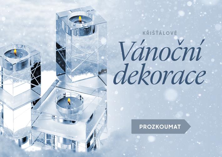 Vánoční dekorace Preciosa