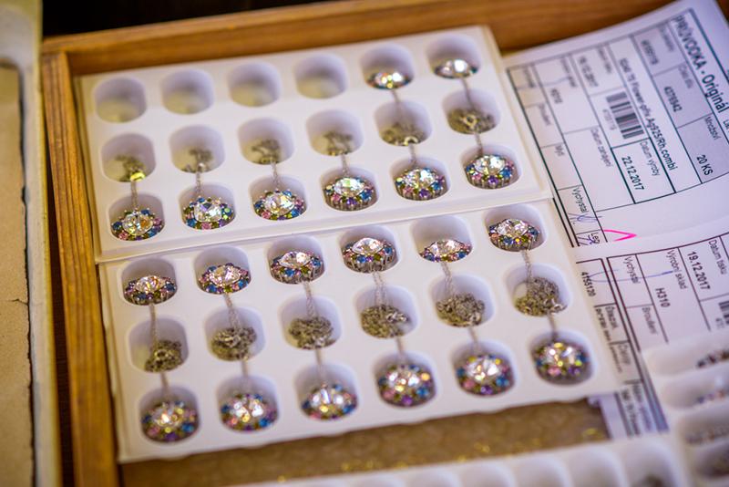 Flower - hotové šperky - Preciosa