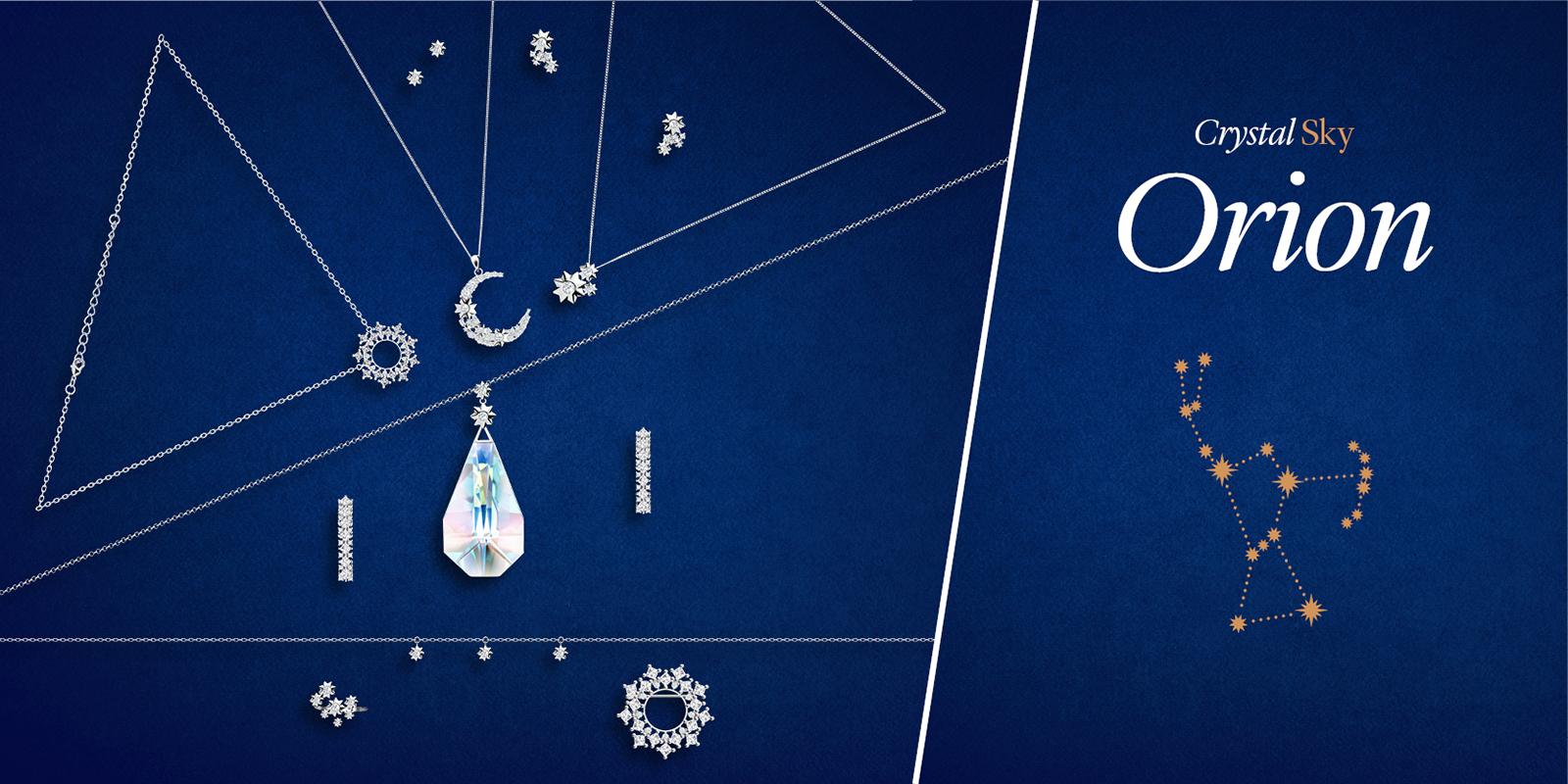 Kolekce šperků Orion