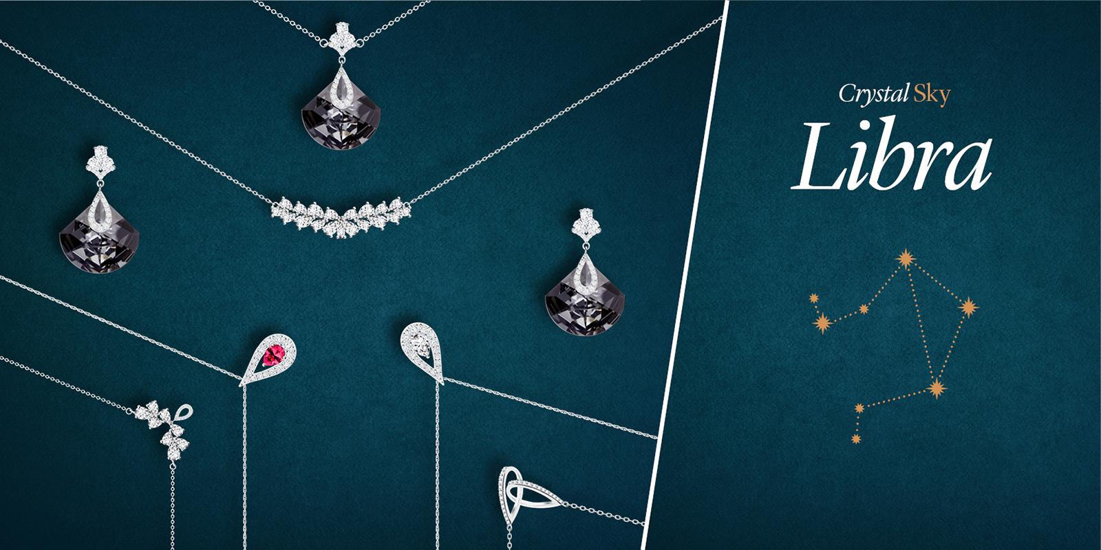 Kolekce šperků Libra