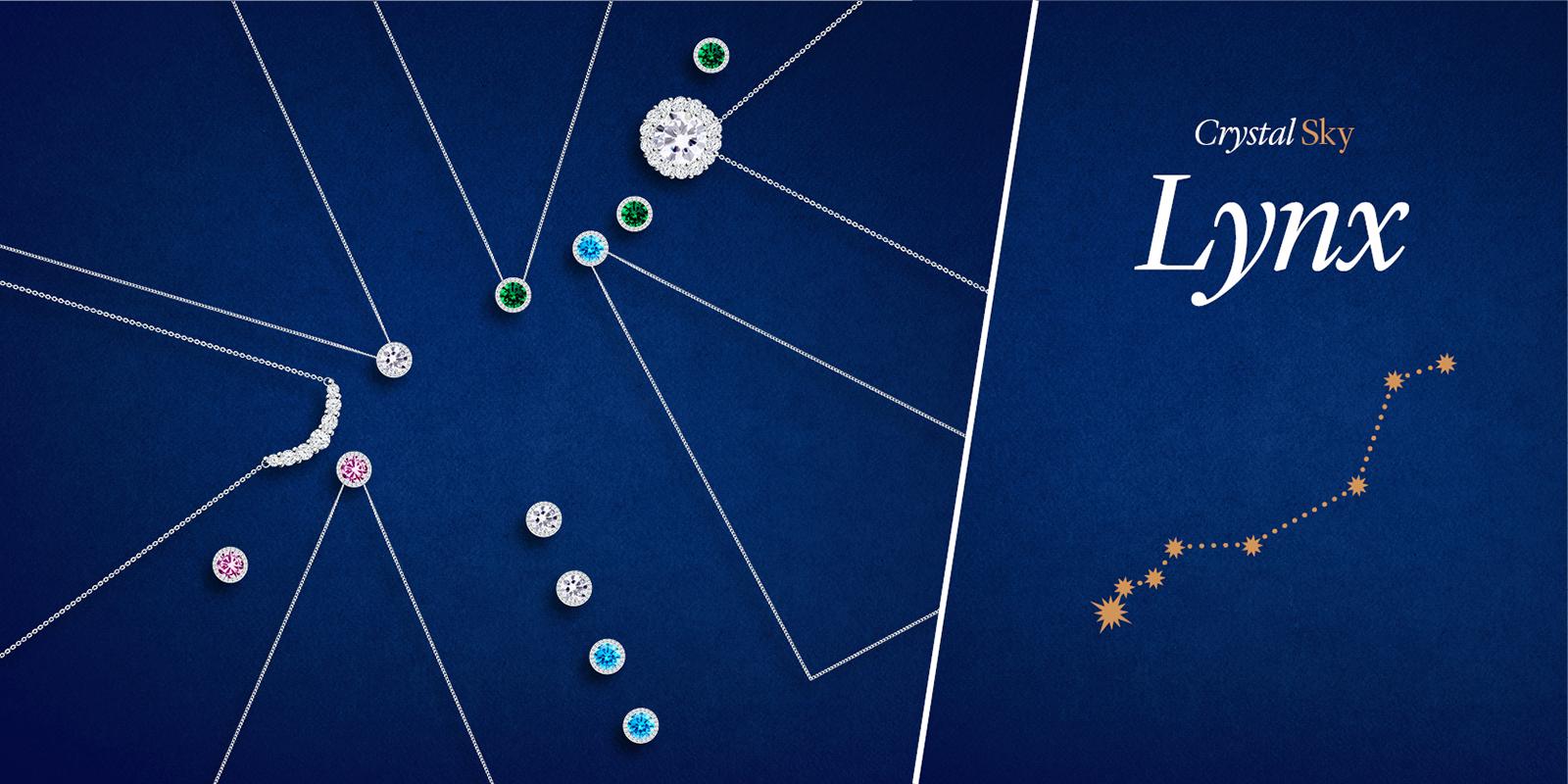 Kolekce šperků Lynx