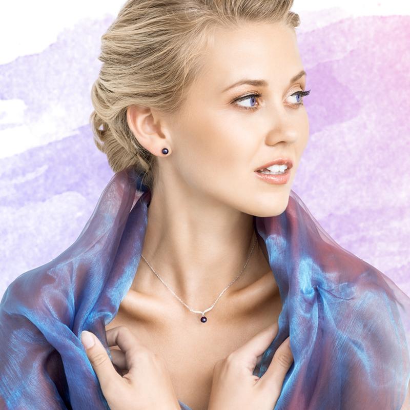 Šperky s pravými perlami Paolina