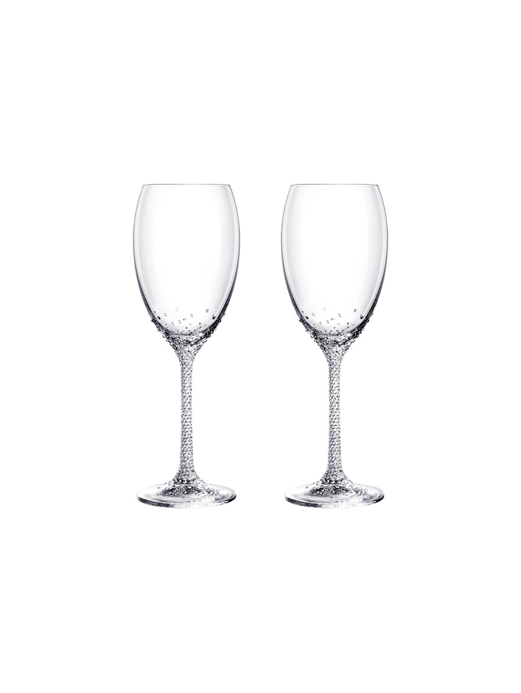 Set dvou skleniček na víno Crystal Romance s českým křišťálem Preciosa