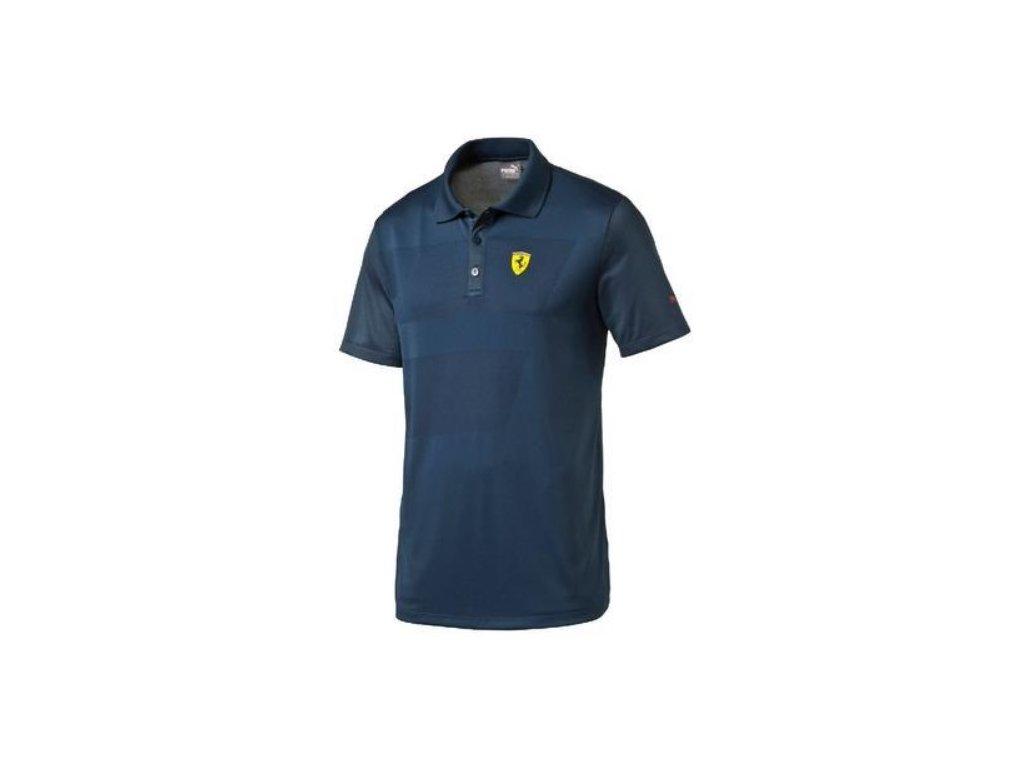 Pánské polo triko Puma Ferrari SF 2 modré, M