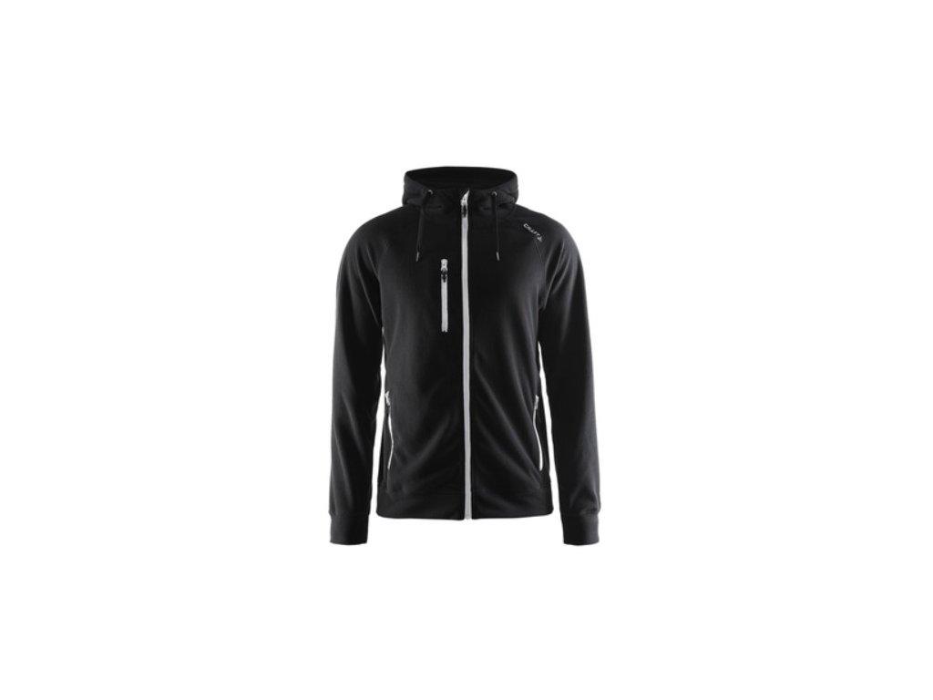 Mikina CRAFT Fleece Hood černá 1903558-9920