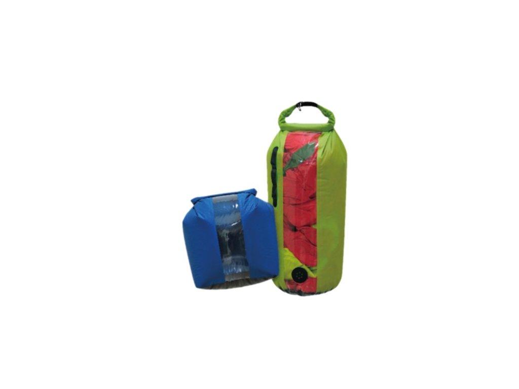 Nepromokavý vak YATE Dry bag s okem a ventilem 5L
