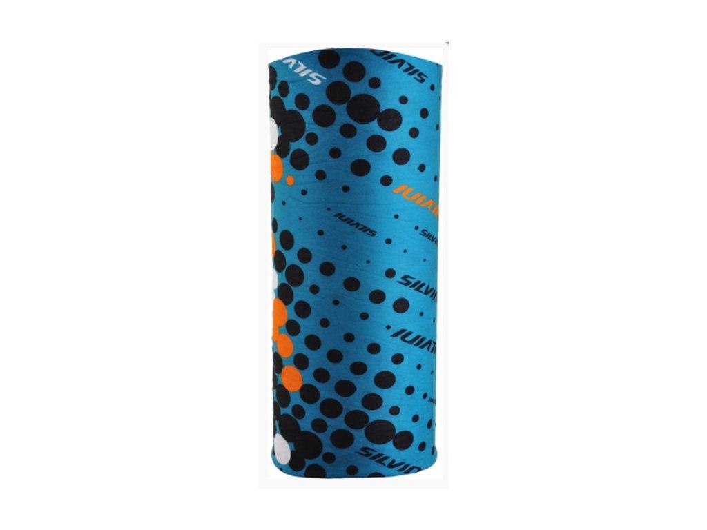 SILVINI MOTIVO - hawaii/black - multifunkční šátek
