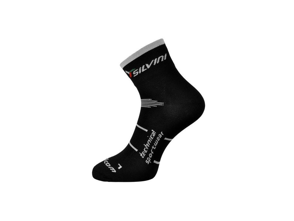 Cyklistické ponožky nad kotník SILVINI ORATO 45-47