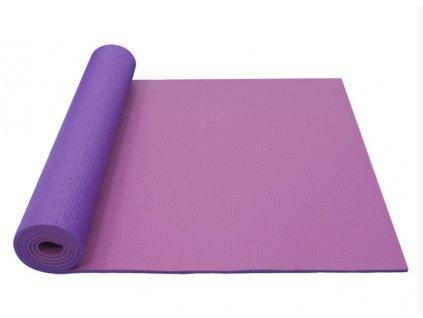 YATE Yoga Mat dvouvrstvá růžová/fialová,včetně tašky