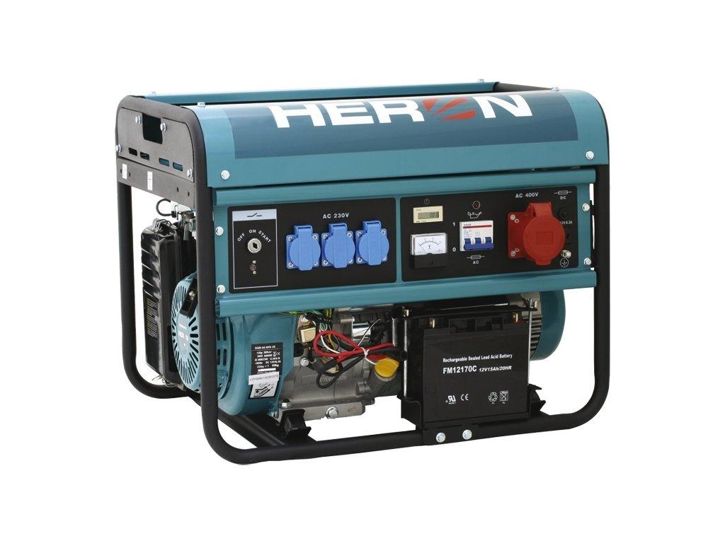 Heron EGM 60 AVR-3E benzínová elektrocentrála