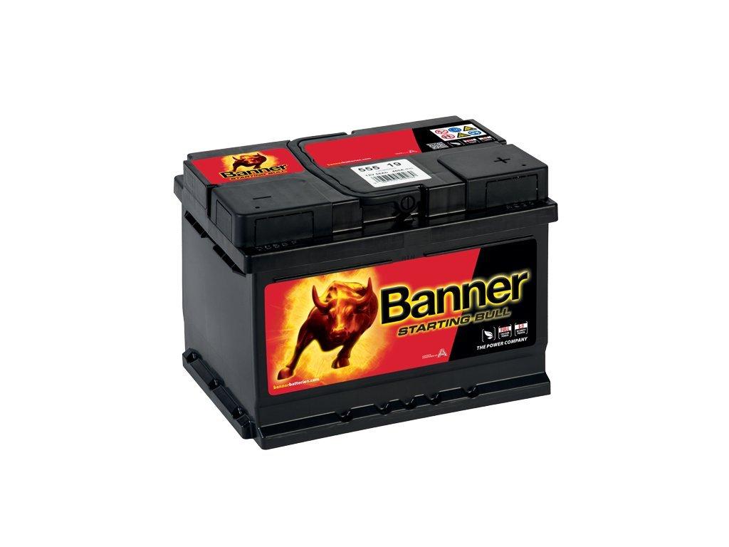 30200 autobaterie banner starting bull 555 19 55ah 12v 55519