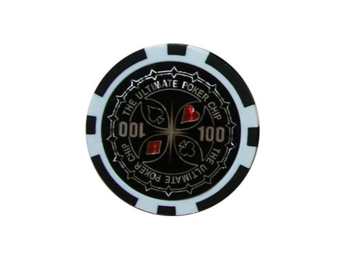 Poker chip ULTIMATE hodnota 100