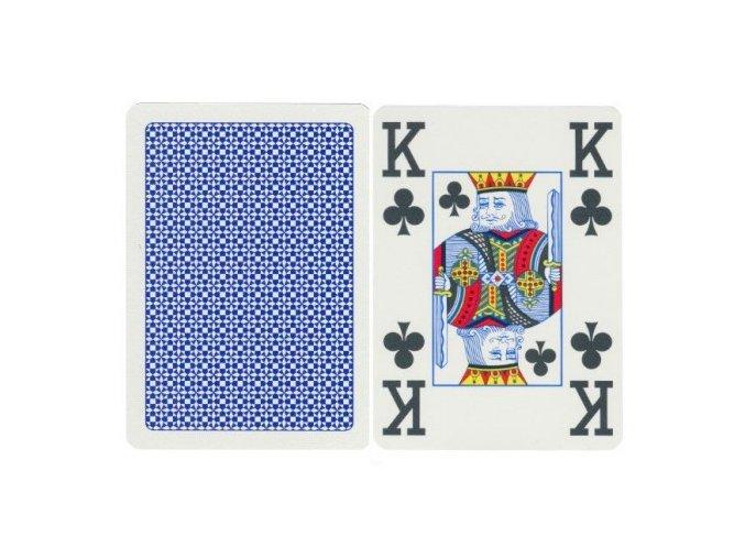 Pokrové hracie karty Copag modré 4x veľký index