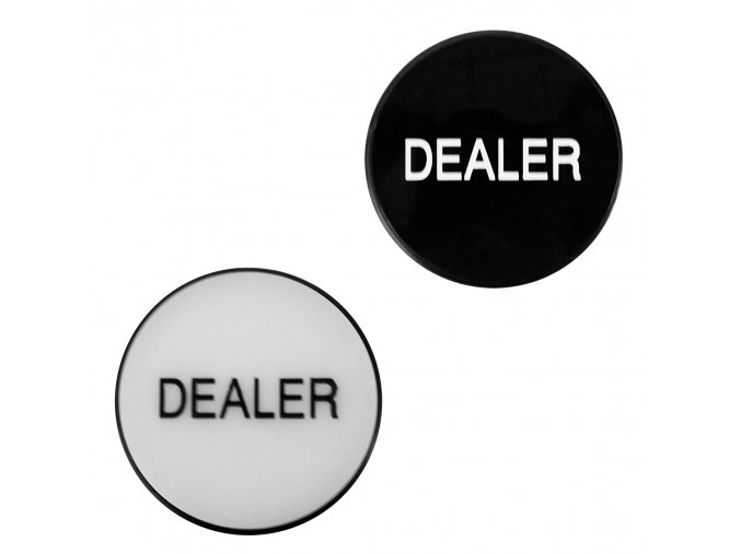Pokrový dealer chip De Luxe