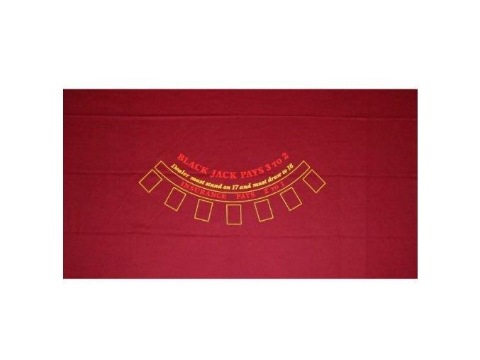 Profi Black Jack červené plátno 200 x 120 cm