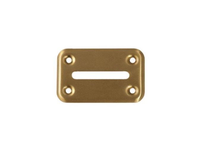 Ústa na cash box zlaté malé