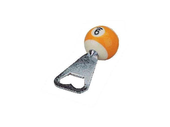 Otvárač na fľaše biliardová guľa č. 9