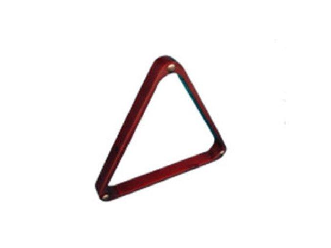 Trojuholník drevený mahagón – 57,2 mm