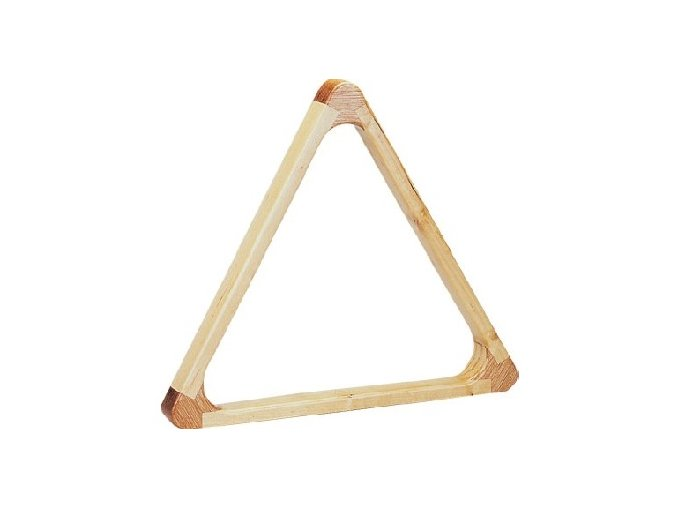 Trojuholník drevený Profi buk 57,2 mm