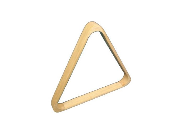 Trojuholník drevený, buk – 57,2 mm