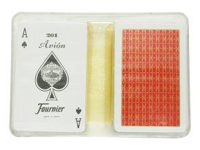Hracie karty Fournier MINI DVOJBALENIE
