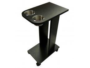 Odkladací stolík k pokrovému stolu CADDY s oblou hranou