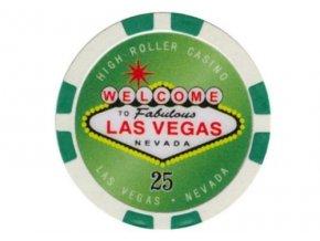 Poker chip HIGHROLLER hodnota 25