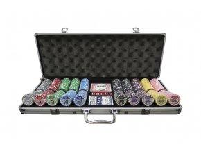 Poker chip set CASINO POKER 500