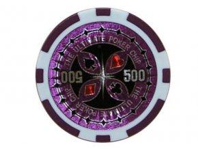 Poker chip ULTIMATE hodnota 500