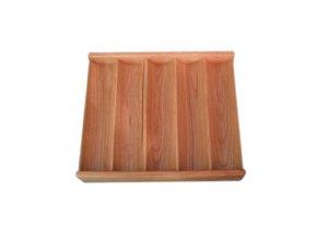 Pokrový chiptray drevený na 250 žetónov