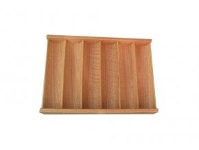 Pokrový chiptray drevený na 300 žetónov