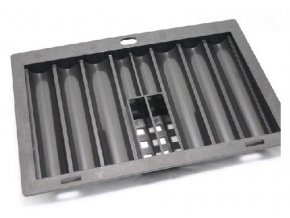 Pokrový chiptray plastový na 300 žetónov