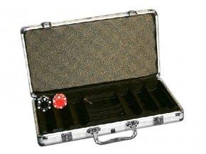 Pokrový kufrík Alu na 300 chips