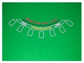 Profi Black Jack zelené plátno 200 x 150 cm