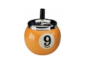 Popolník biliardová guľa č. 9