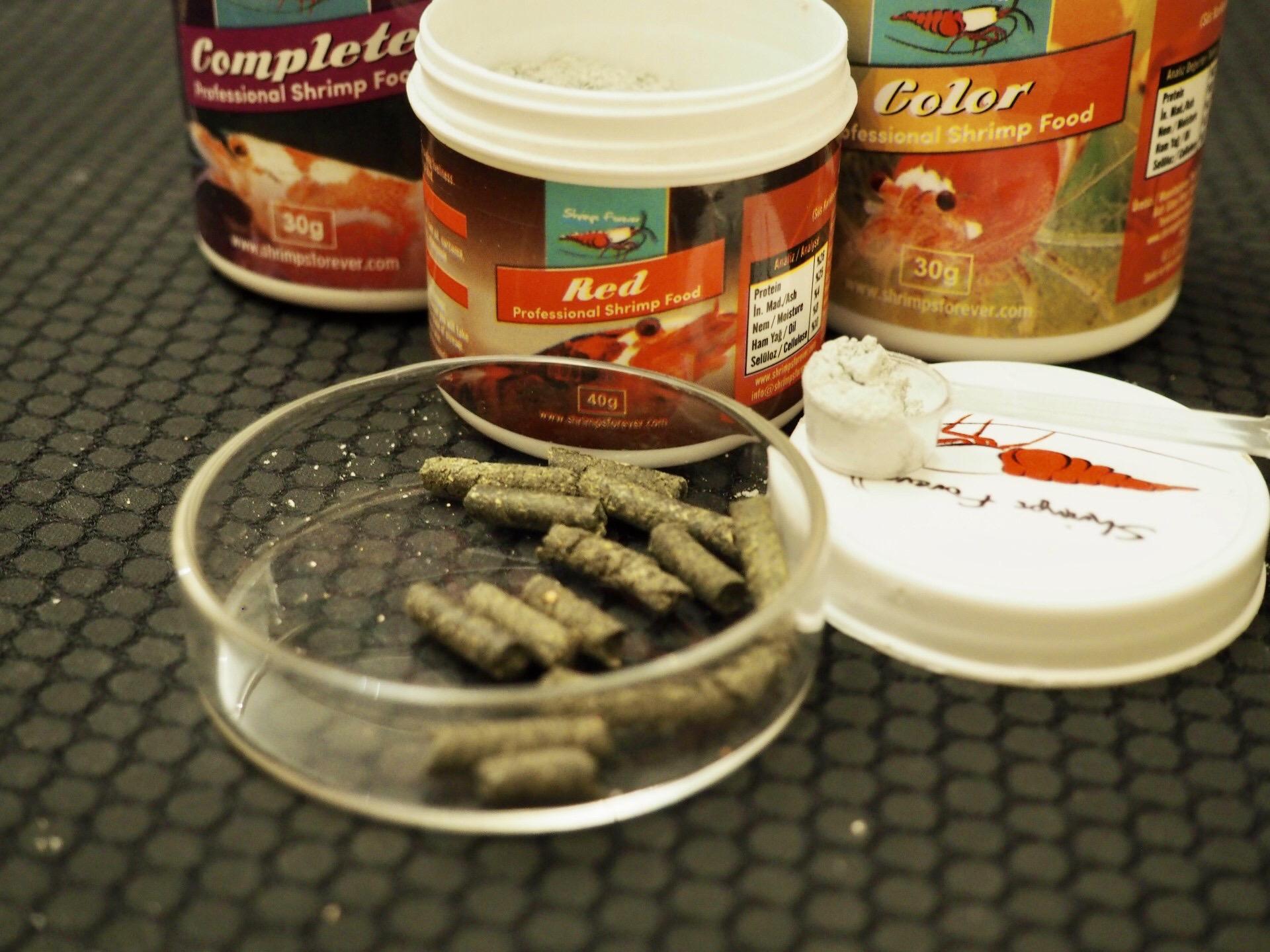 Optimálne krmivo pre krevetky #9