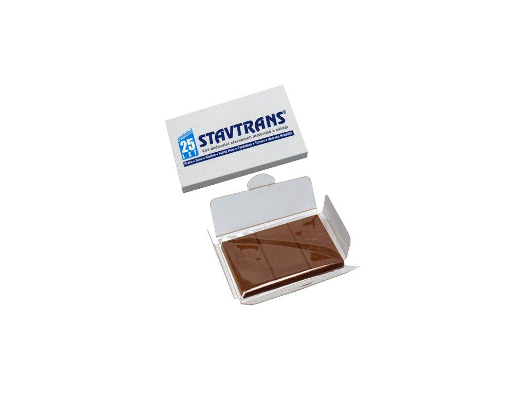 Čokoláda 20 g obdélník v papírové krabičce