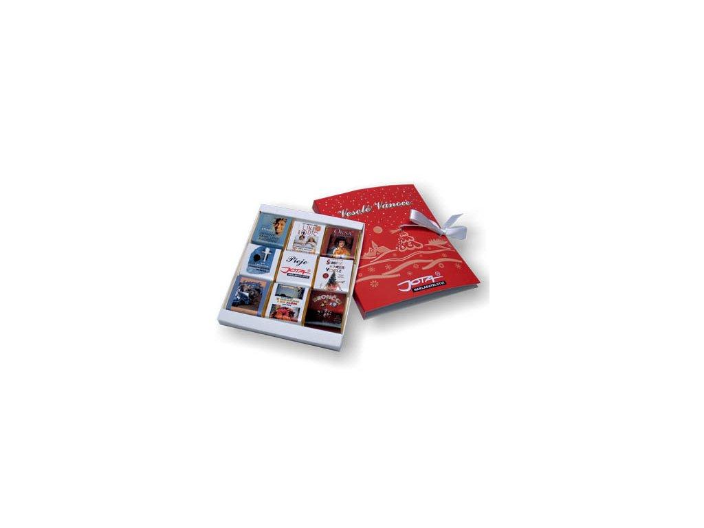 Čokosada 9 x 5 g kniha