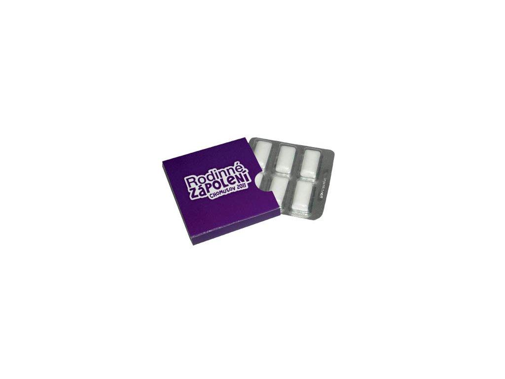 Žvýkačky platíčko 6 ks