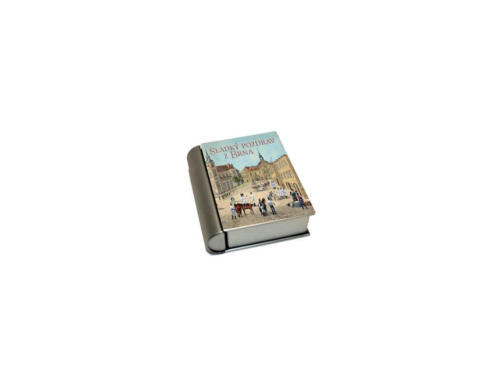 Kovová krabička kniha